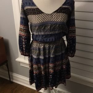 Hollister Dress, Long Sleeve, Size Medium
